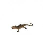 Rubberen krokodil 33 cm