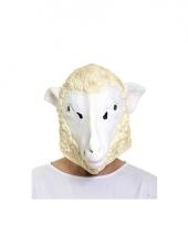 Rubberen schapen masker