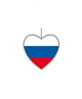 Rusland decoratie hart 14 cm