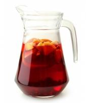 Sangria kan van glas 1 6 l