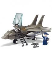 Schaalmodel f16 straaljager sluban