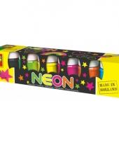 Schilderijverf neonkleuren 6 x 50 ml