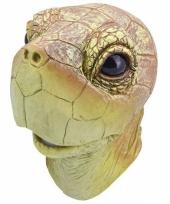 Schildpad masker van rubber