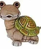 Schildpad tuinbeeld 33 cm