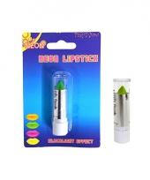 Schmink lippenstift neon groen