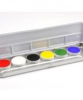 Schmink pakket 6 kleuren