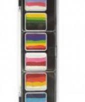Schminkpalet verschillende kleuren