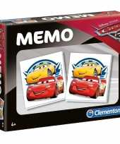 Schoen kado cars memory spelletje