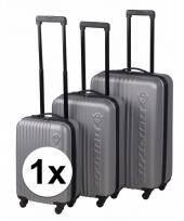 Schokbestendige koffers zilver 65 cm