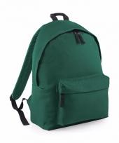 Schooltas donker groen voor kinderen