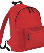 Schooltas fel rood voor kinderen