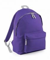 Schooltas paars voor kinderen