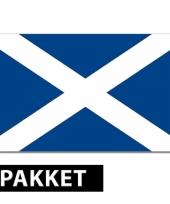 Schotland thema versiering pakket