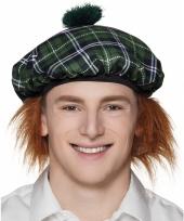 Schotland verkleedkleding muts groen