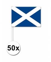 Schotland zwaai vlaggetjes 50 stuks