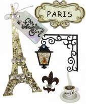 Scrapbook materialen parijs stickers