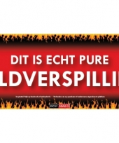 Sd sticker geldverspilling