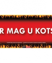 Sd sticker hier mag u kotsen