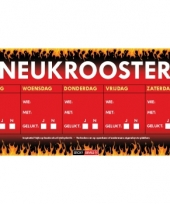 Sd sticker neukrooster per week