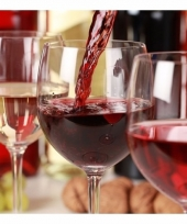 Servetten met rode wijn thema 20 stuks