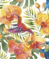 Servetten tropische print 20 stuks