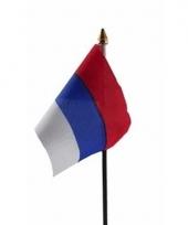 Servische landenvlag op stokje