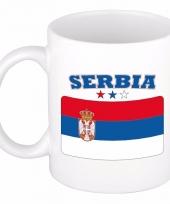 Servische vlag koffiebeker 300 ml