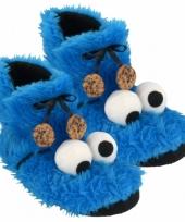 Sesamstraat sloffen koekiemonster