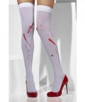 Sexy kniekousen met bloedvlekken