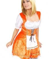 Sexy oranje bierfeest jurkje