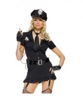 Sexy politie compleet kostuum voor dames