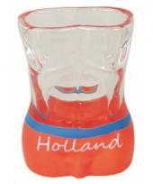 Sexy shotglas holland oranje
