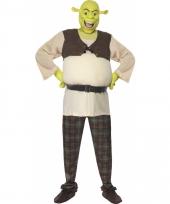 Shrek kostuum voor mannen