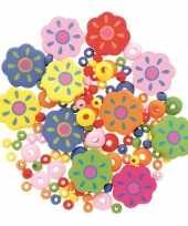Sieraden maken kralenmix set bloem