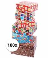Sinterklaas kado inpakpapier 100x
