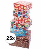 Sinterklaas kado inpakpapier 25x