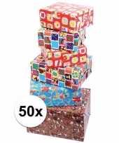 Sinterklaas kado inpakpapier 50x