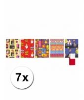 Sinterklaas kado papier rol 7x