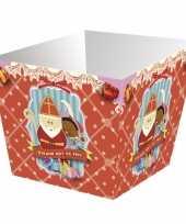 Sinterklaas pepernoot bakjes 4 stuks