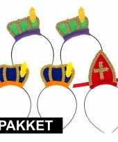 Sinterklaas sinterklaas intocht pakket voor 5 personen