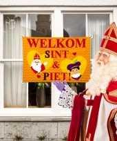 Sinterklaas welkomst vlag 10123237