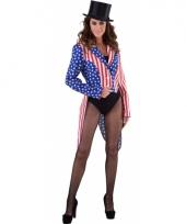 Slipjas amerika stars and stripes voor dames