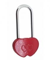 Slot in de vorm van een hart 9 cm