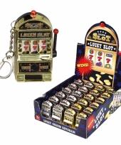 Slotmachine casino sleutelhanger 10080114