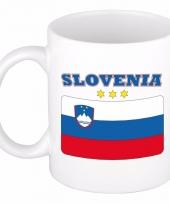 Sloveense vlag koffiebeker 300 ml