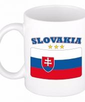 Slowaakse vlag koffiebeker 300 ml