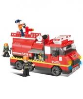 Sluban bouwsteentjes brandweer