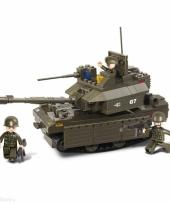 Sluban bouwsteentjes tank met kanon