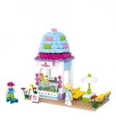 Sluban ijswinkel bouwsteentjes set