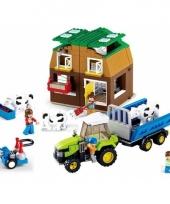 Sluban koeienstal bouwsteentjes set